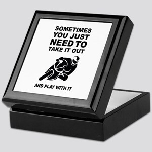 Take It Out And Play With It Keepsake Box