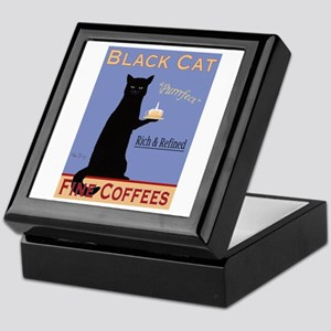 Black Cat Coffee Keepsake Box