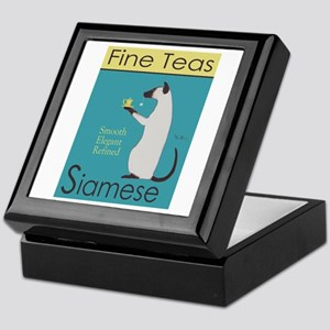 Siamese Fine Teas Keepsake Box