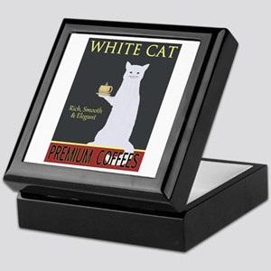 White Cat Coffee Keepsake Box