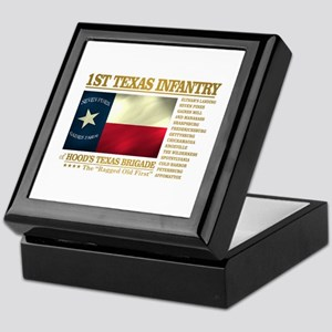 1st Texas Infantry (BH2) Keepsake Box