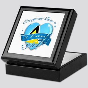 I heart St Lucian Designs Keepsake Box