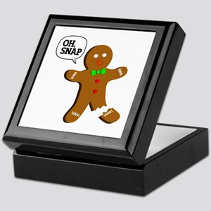 Oh, Snap! Funny Gingerbread Christmas Gift Keepsak