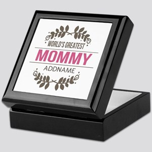 Custom Worlds Greatest Mommy Keepsake Box