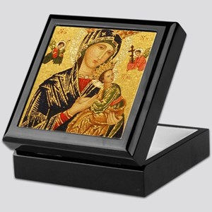 Our Lady of Perpetual Help Keepsake Box