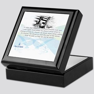 Stepdad Choices Keepsake Box