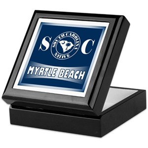 Myrtle Beach Keepsake Box