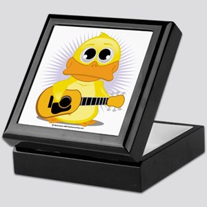 Guitar-Duck Keepsake Box