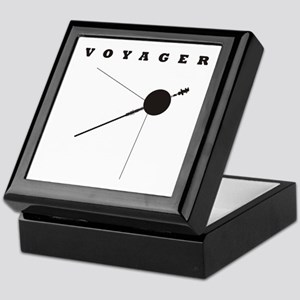 Voyager Space Probe Keepsake Box