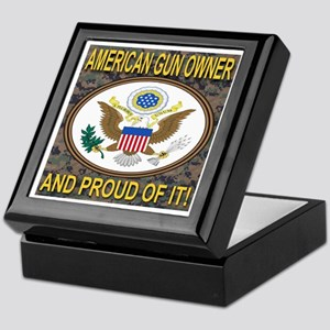 Gun Owners Of America Jewelry Boxes - CafePress