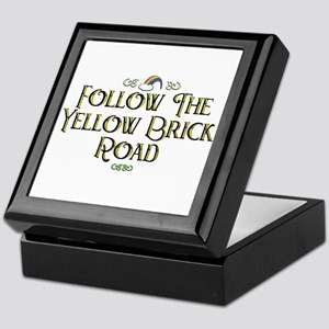 Follow the Yellow Brick Road Keepsake Box