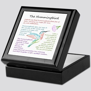 The Hummingbird Keepsake Box