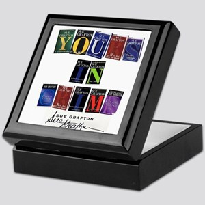 Yours In Crime Keepsake Box
