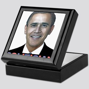 George_obama Keepsake Box