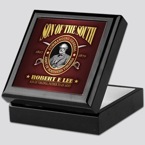 General Robert E Lee Keepsake Box