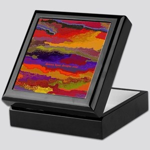 Autumn Sunset Keepsake Box