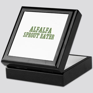 Alfalfa Sprout Eater Keepsake Box