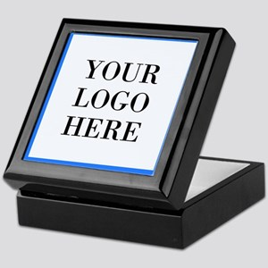 Your Logo Here Keepsake Box