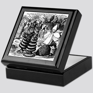 Alice's Chess Pieces Keepsake Box