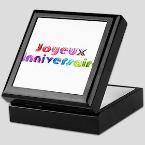 Happy Birthday French Jewelry Boxes - CafePress