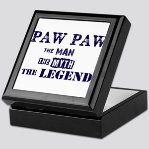 PAW PAW THE MAN MYTH LEGEND Keepsake Box