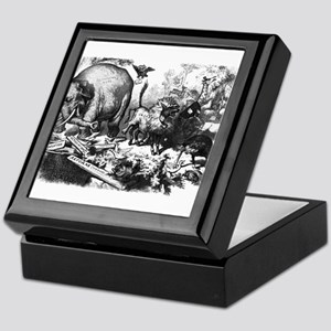 NastRepublicanElephant Keepsake Box