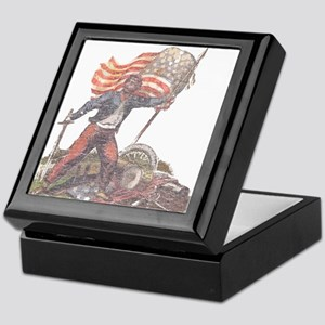 Civil War Patriot Keepsake Box