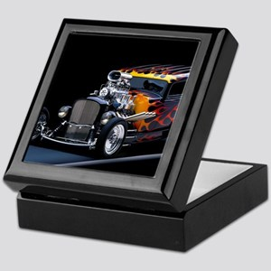 Hot Rod Keepsake Box
