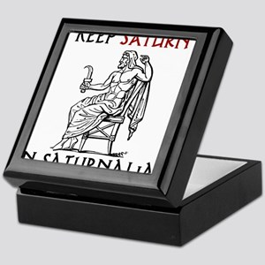 Keep Saturn in Saturnalia Keepsake Box