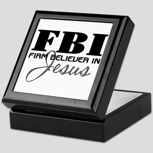 Firm Believer in Jesus Keepsake Box