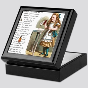 Alice in Wonderland Drink Me Keepsake Box