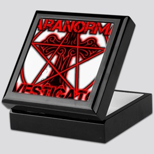 Paranormal signs Keepsake Box