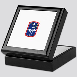 SSI - 172nd Infantry Brigade Keepsake Box