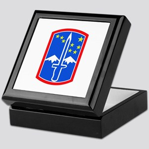 SSI -172nd Infantry Brigade Keepsake Box