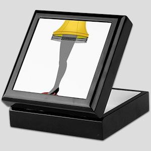 leg lamp Keepsake Box
