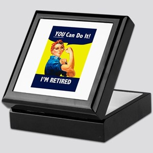 Rosie The Retired Riveter Keepsake Box