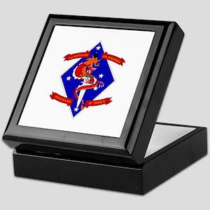 1st Battalion - 4th Marines Keepsake Box