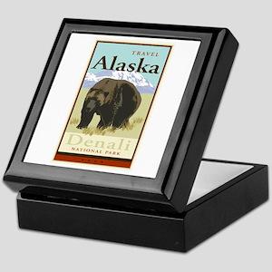 Travel Alaska Keepsake Box