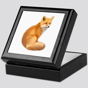 animals fox Keepsake Box
