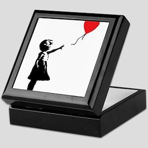 Banksy - Little Girl with Ballon Keepsake Box