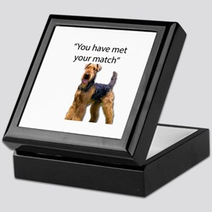 Airedale Terrier Says You've Met Your Keepsake Box