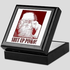 Santa Claus says, Shut Up A.C.L.U! Keepsake Box
