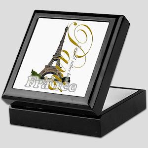 Paris, France - Keepsake Box
