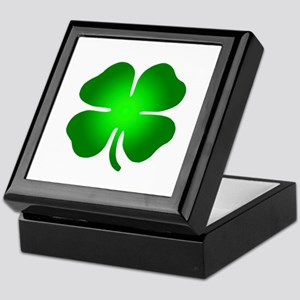 Four Leaf Clover Keepsake Box