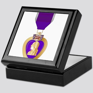 Purple Heart Medal Keepsake Box