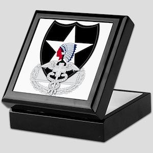 2nd Infantry CFMB Keepsake Box