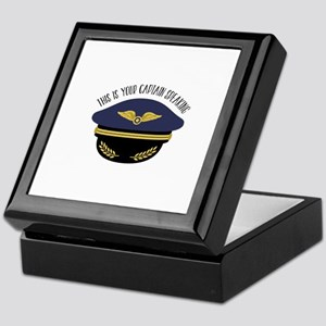 Your Captain Keepsake Box