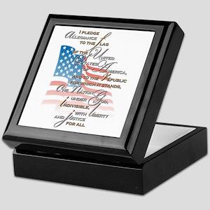 US Pledge - Keepsake Box