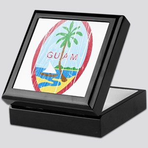 Guam Coat Of Arms Keepsake Box