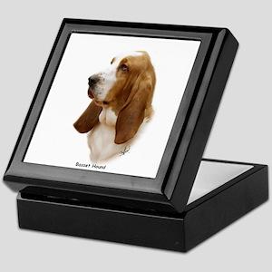 Basset Hound 9J055D-15 Keepsake Box